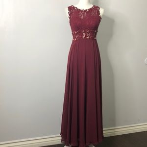 Dresses & Skirts - Burgundy wine fancy dress